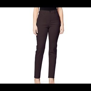 Gloria Vanderbilt Amanda coffee slimming jeans 8L
